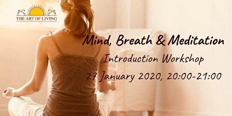 Mind, Breath & Meditation - Introduction Workshop tickets