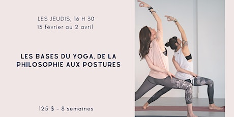 Atelier d'initiation au yoga tickets