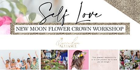 Queendom Alliance - New Moon Flower Crown Workshop Brunch tickets