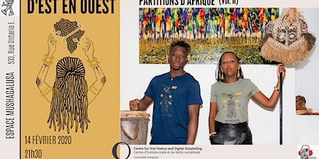 Voies féministes | D'Est en Ouest: Partitions d'Afrique (vol.II) billets