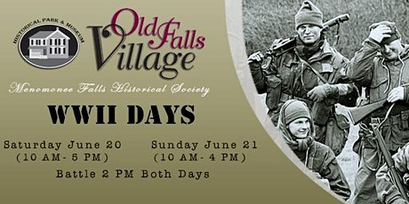 WWII Days at Old Falls Village tickets