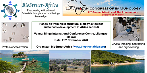 BioStruct-Africa hands-on training in structural biology series 3
