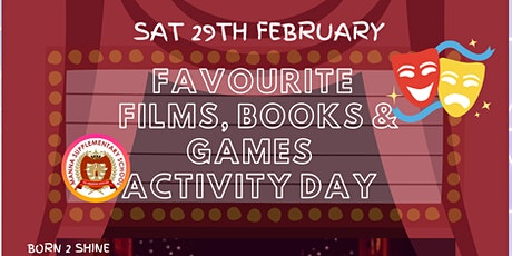 Books, Films & Games ACTIVITY DAY tickets