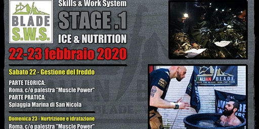 BLADE S.W.S. STAGE .1 - Ice & Nutrition