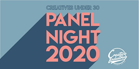 Panel Night 2020: Creatives under 30 tickets