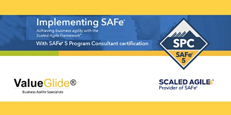 Implementing SAFe® 5.0 Dublin Delivered by Scaled Agile Inc tickets