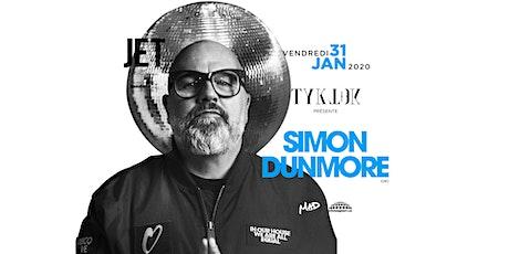TYK TOK - SIMON DUNMORE (UK) billets