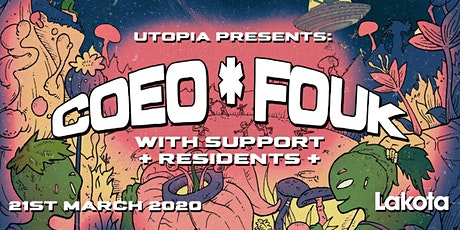 Utopia Presents: COEO | FOUK tickets