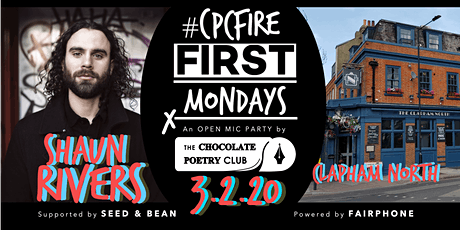 POETRY - #CPCFIRE CLAPHAM Open Mic Fire // Every First Monday tickets