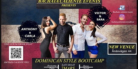 Bachata Caliente Vol2 tickets