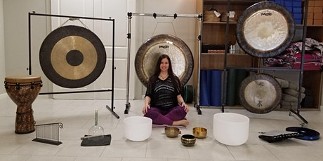 Meditation Using Gongs and Sacred Sounds for Stress Relief and Relaxation tickets