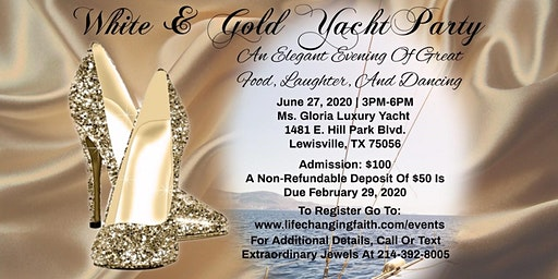 Extraordinary Jewels - White & Gold Yacht Party