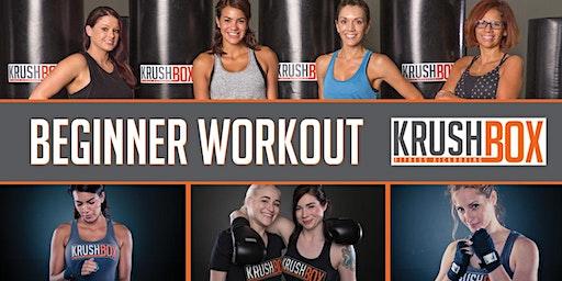 FREE KrushBox Beginner Kickboxing Workout
