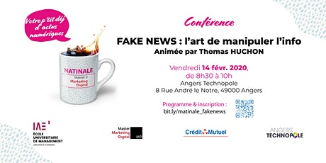 Fake News : l'art de manipuler l'info billets