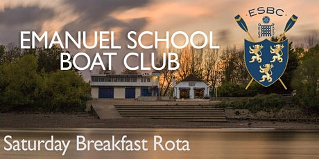 Copy of Help out at the ESBC Saturday Breakfast Rota - Spring Term 2020 tickets