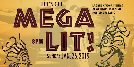 Let's Get MegaLiT!  Lagree x Yoga FITNESS tickets