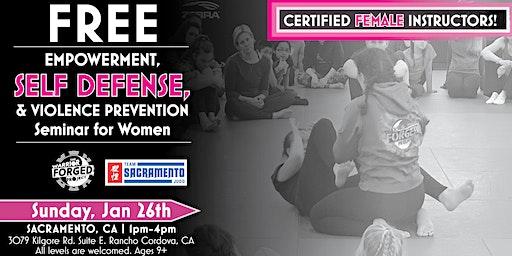 Empowerment & Violence Prevention Self Defense Seminar