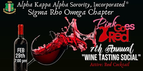 Pink Goes Red 7th Annual Wine Tasting tickets