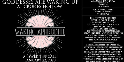 Waking Aphrodite Workshops
