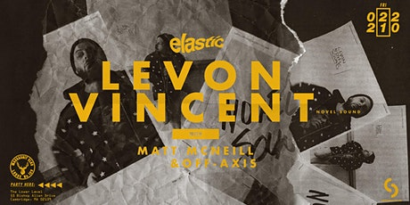 Elastic with Levon Vincent (Novel Sound) tickets