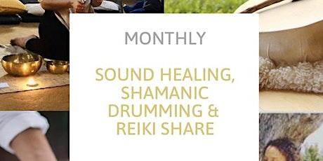 Reiki Share, Sound Healing, Shamanic Drumming tickets