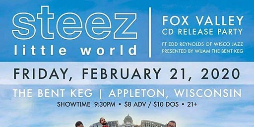 Steez Album Release with special guest Edd Reynolds at The Bent Keg