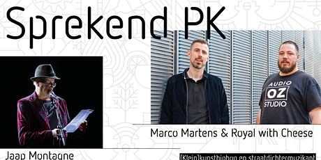 Sprekend PK #1: Marco Martens & Royal with Cheese  tickets