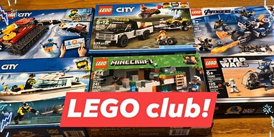 Vacation Week~ Lego Club