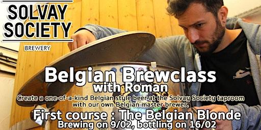 Belgian Brewclass 1 : The Belgian Blonde
