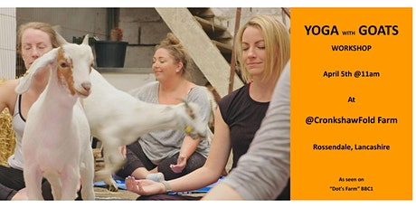 Yoga with Goats Workshop, North Manchester tickets