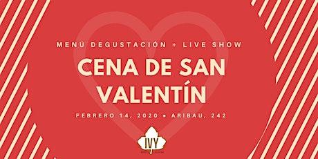 Cena de San Valentín en Barcelona 2020 - Menú degustación + Live Music entradas