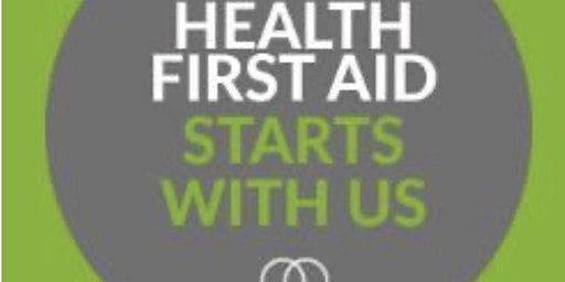 MHFA England. Mental Health England First Aid 2 day course
