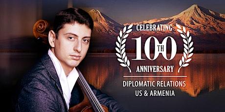 Narek Hakhnazaryan in Washington: Centennial of US-Armenia Diplomatic Ties tickets
