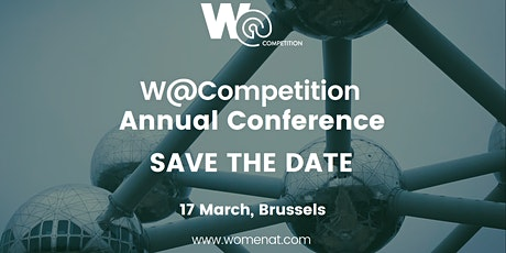 """The 4th Annual W@Competition Conference """"The Competiti[ve] Edge"""" billets"""