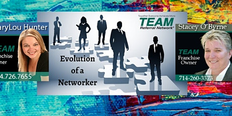 TEAM's Success Series - The Evolution of a Networker tickets