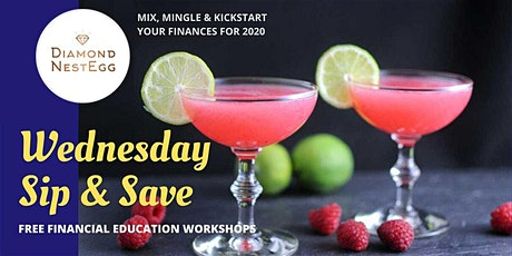 Sip & Save Financial Series: Budgeting Bootcamp tickets
