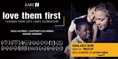"""""""Love Them First"""" viewing and community conversation tickets"""