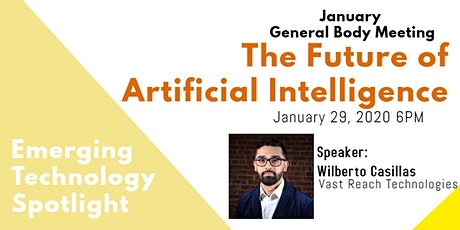 January GBM - Emerging Technology Spotlight: Artificial Intelligence tickets