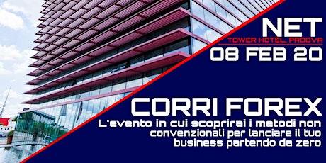 """""""CORRI FOREX"""" biglietti"""