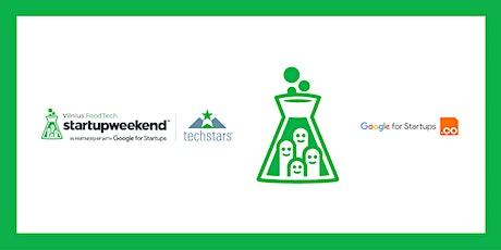 Techstars Startup Weekend Vilnius FoodTech tickets