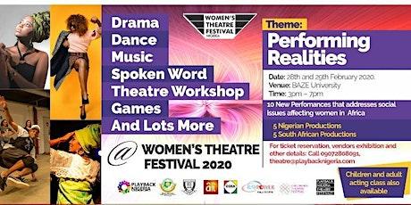 Women's Theatre Festival 2020 tickets