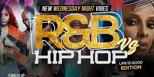R&B VS HIP HOP ! FREE WING ANY FLAVOR! WEDNESDAY
