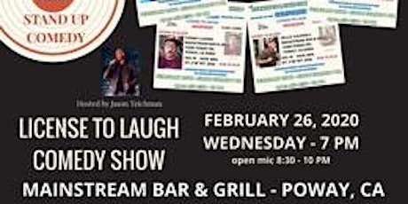 License To Laugh Comedy Show tickets