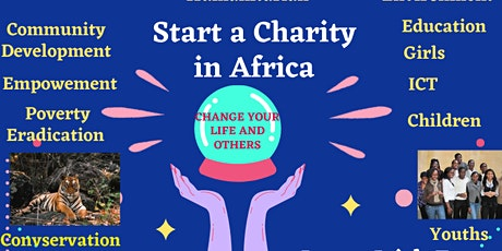 Start a charity in Africa. tickets
