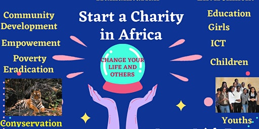 Start a charity in Africa.