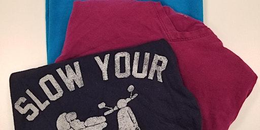 T-Shirt Quilt w/ Scarlett