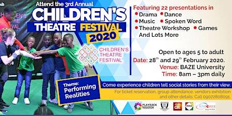 Children's Theatre Festival 2020 tickets