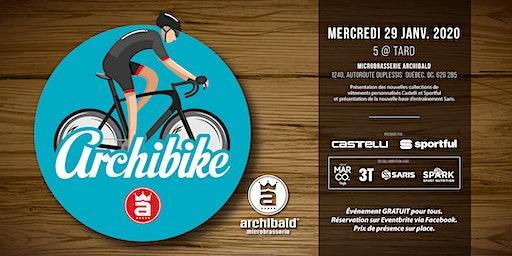 ARCHIBIKE présenté par Castelli et Sportful.