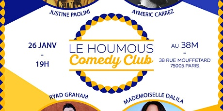 Le Houmous Comedy Club - S01E09 tickets