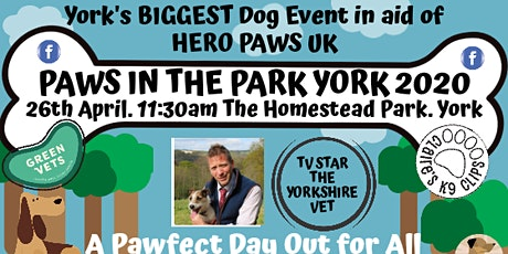 Paws in the Park York 2020 tickets